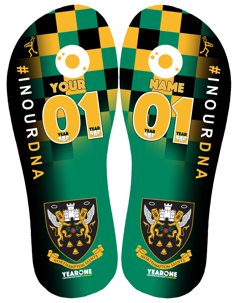 Northampton Saints RFC Flip-Flop