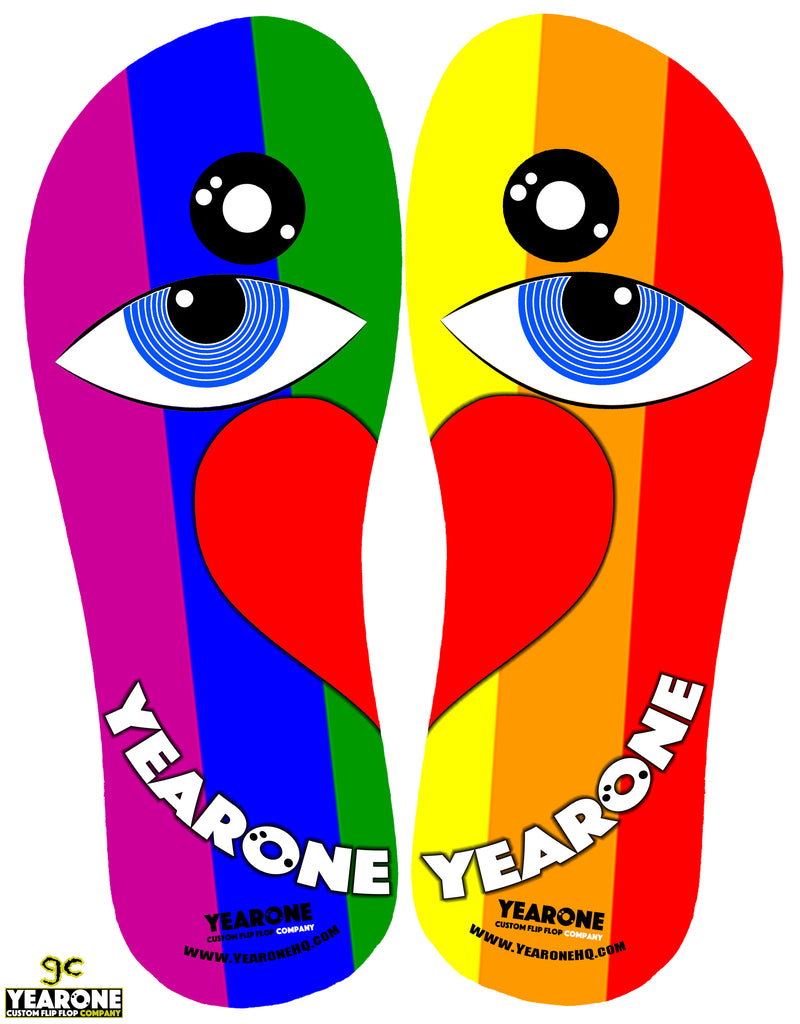 Yearone Pride Flip-Flop