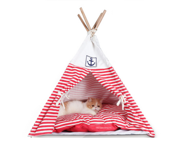 Captain Stripe Teepee - Red