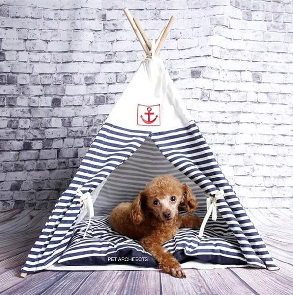 Captain Stripe Teepee - Bleu