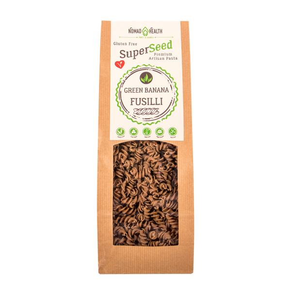 SuperSeed Green Banana Fusilli