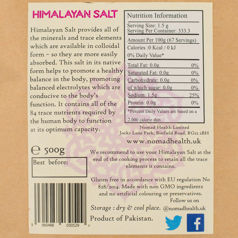 SuperFood Fine Himalayan Salt