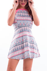 Bose Pink Tribal Dress