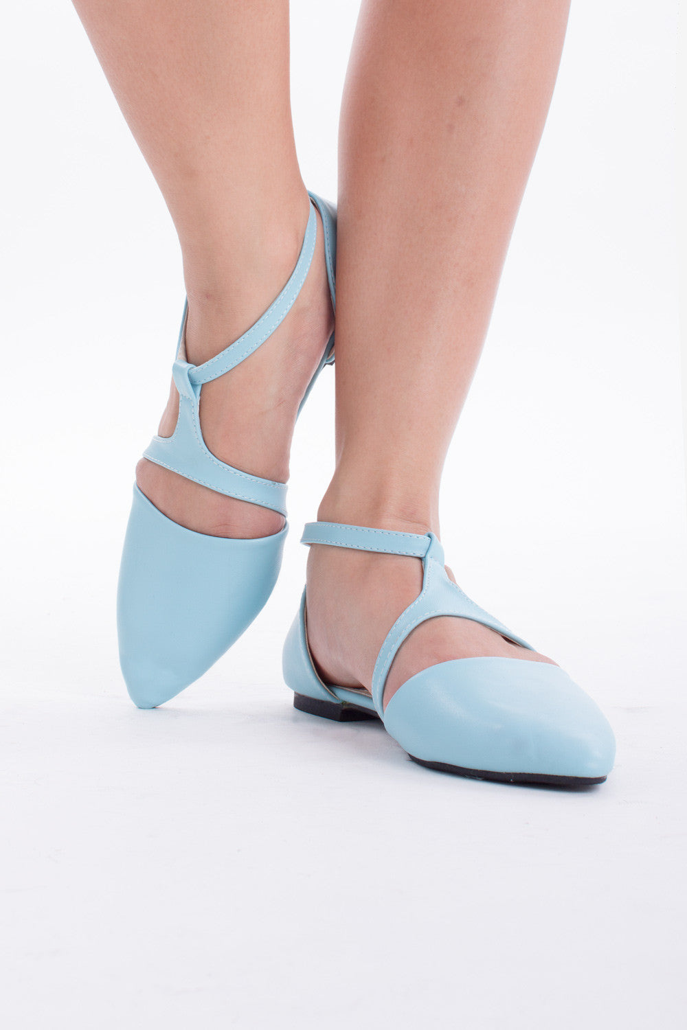 Indie Flats in Sky Blue