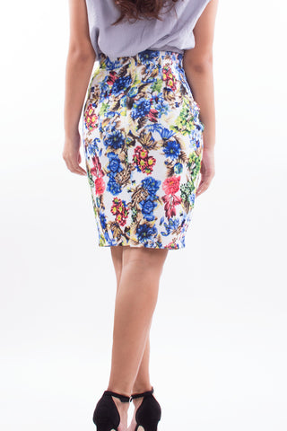 Cox Floral Skirt