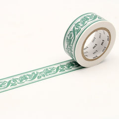 MT x William Morris Washi Tape Lily Border