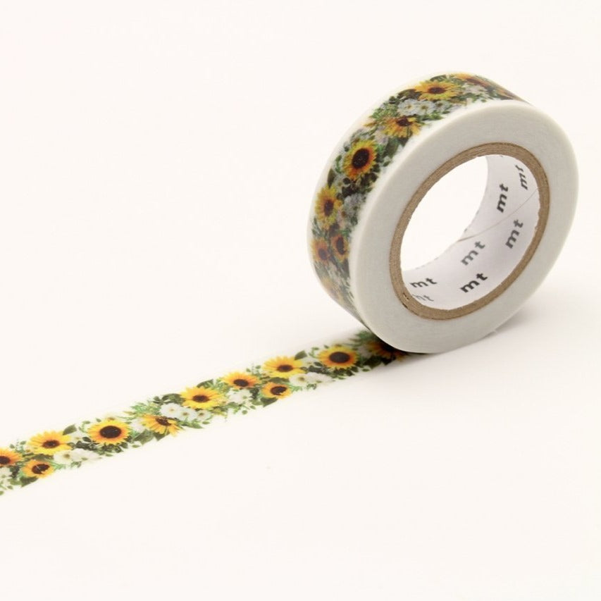 MT Sunflower washi tape (MTEX1P138)