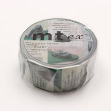 Load image into Gallery viewer, MT Dry Landscape Garden washi tape (MTEX1P146)