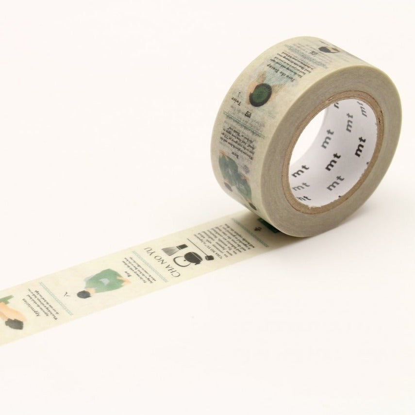 MT Tea Ceremony washi tape (MTEX1P145)