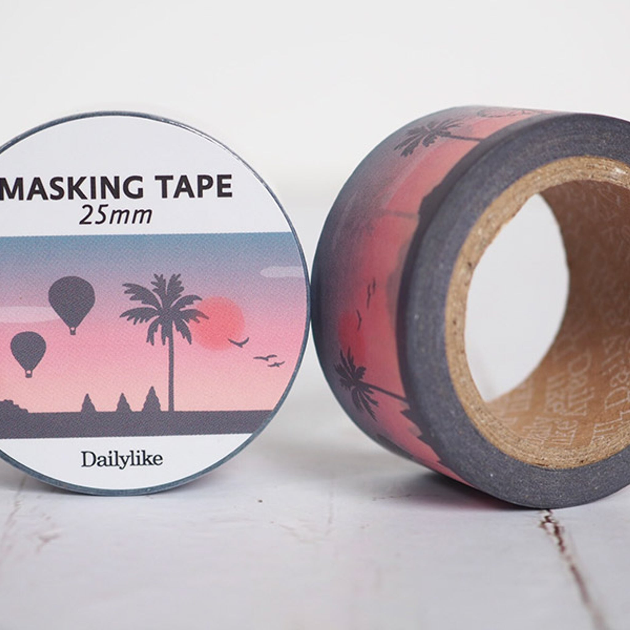 Dailylike 03 Sunset 25mm Masking Tape