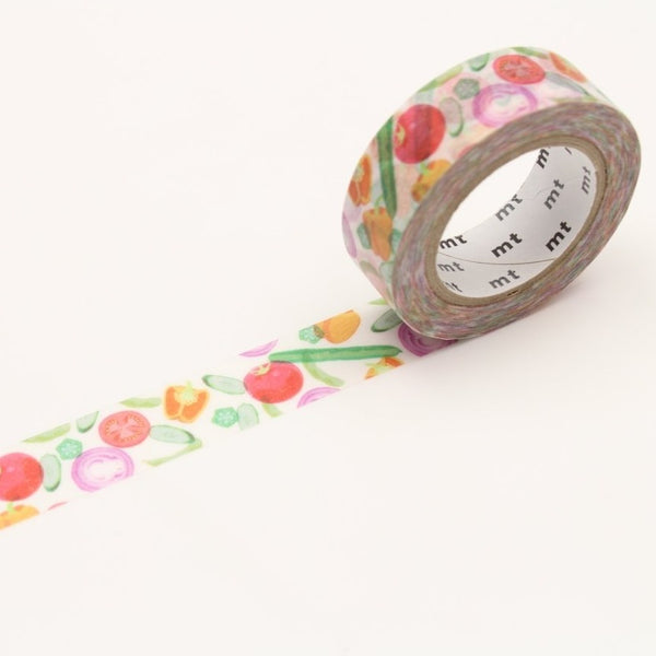 MT EX Washi Tape Summer Vegetable