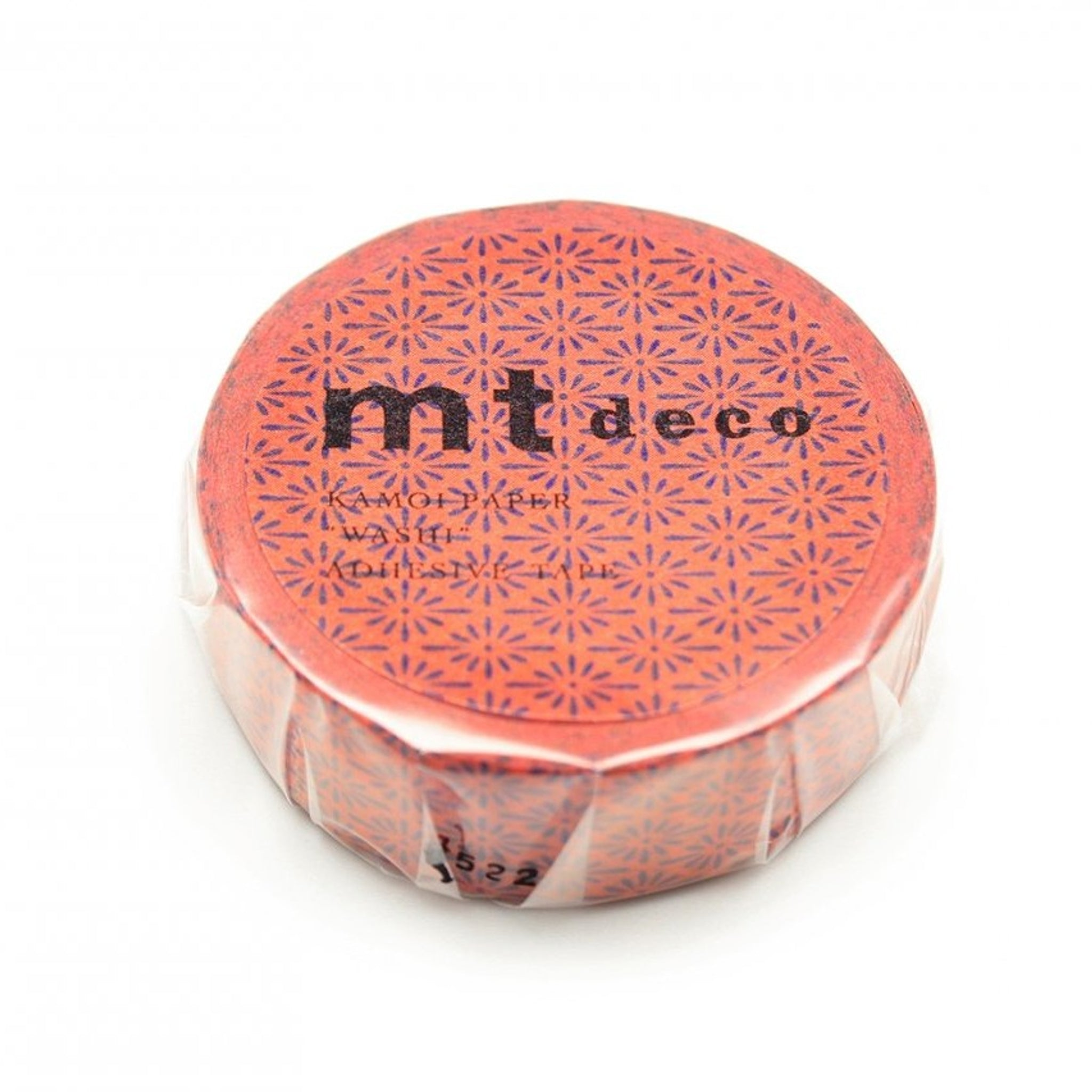 MT Deco Washi Tape Hanabishi Kakishibu