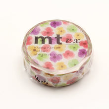 Load image into Gallery viewer, MT Pansy washi tape (MTEX1P149)