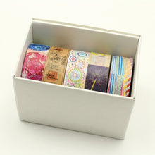 Load image into Gallery viewer, mt 10th Anniversary Gift Box washi tape set v2