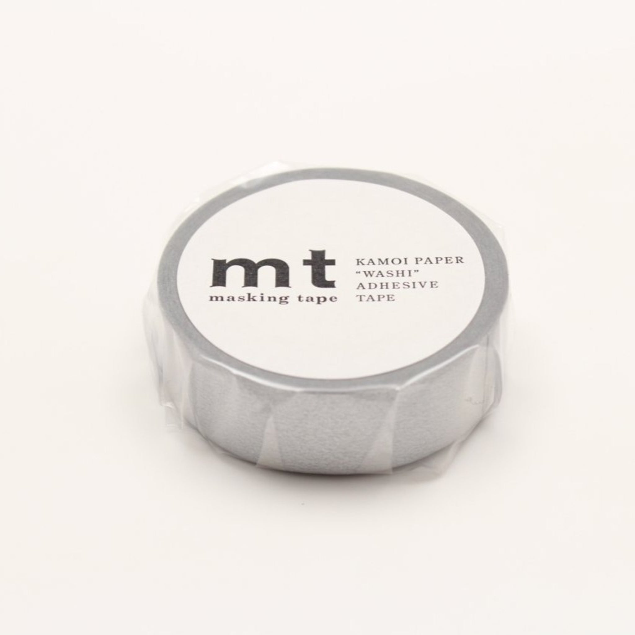 MT Basic Washi Tape Silver
