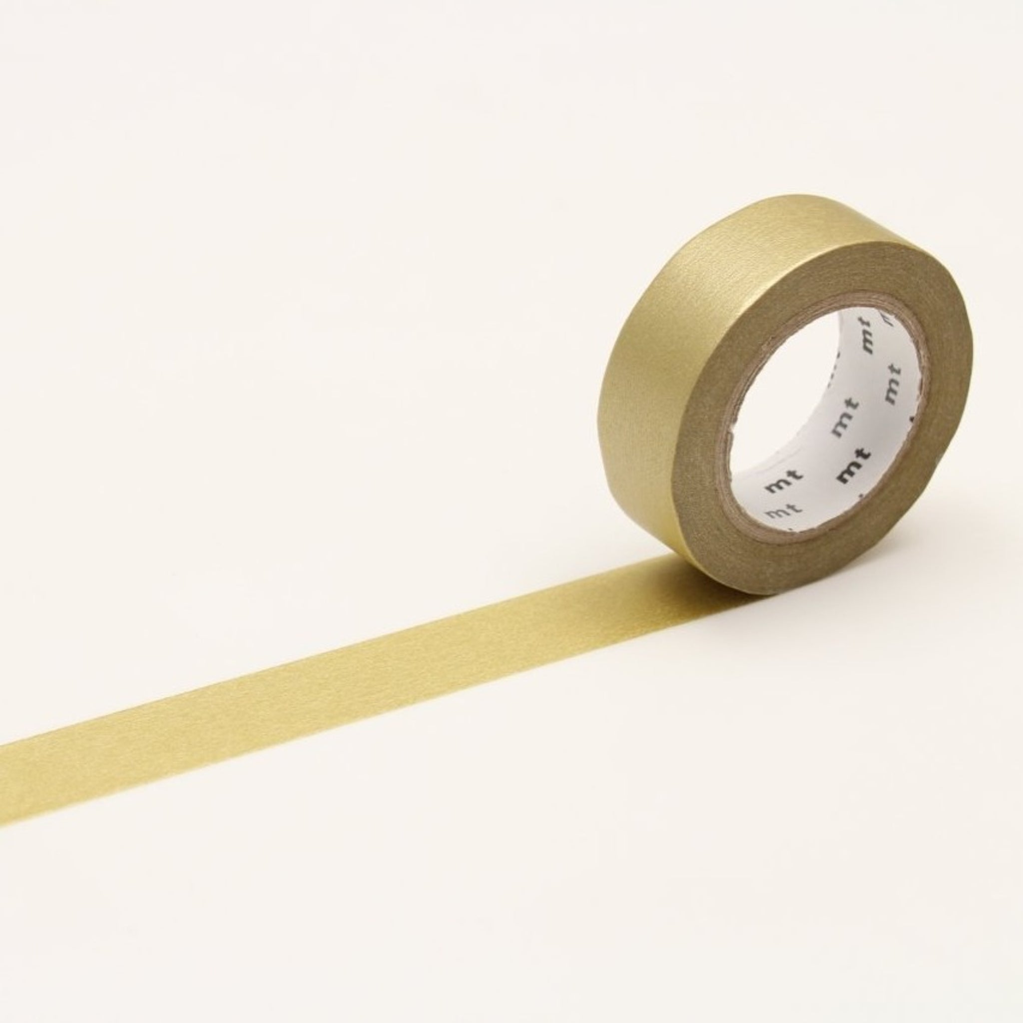 MT Basic Washi Tape Gold