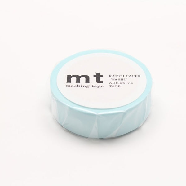 MT Basic Washi Tape Pastel Powder Blue
