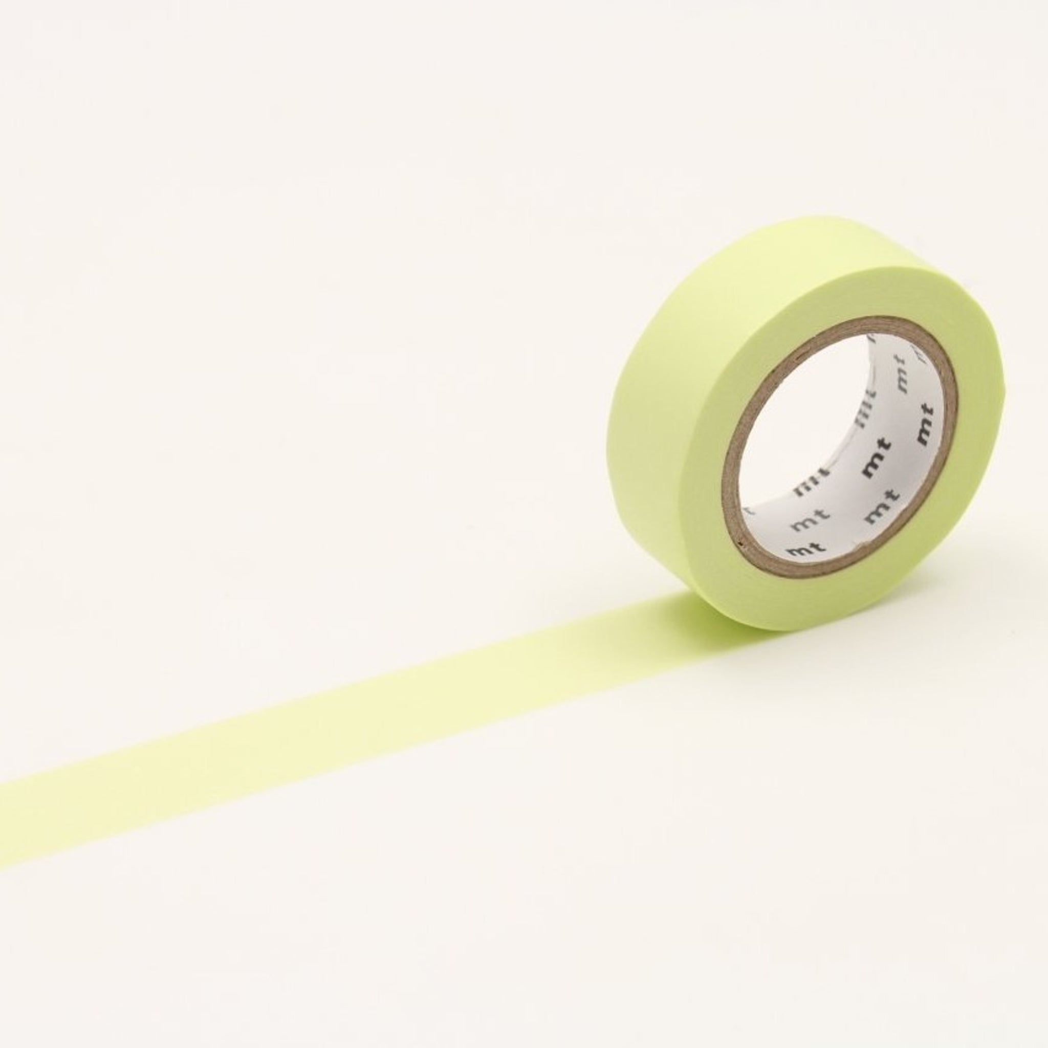 mt Pastel Lime washi tape