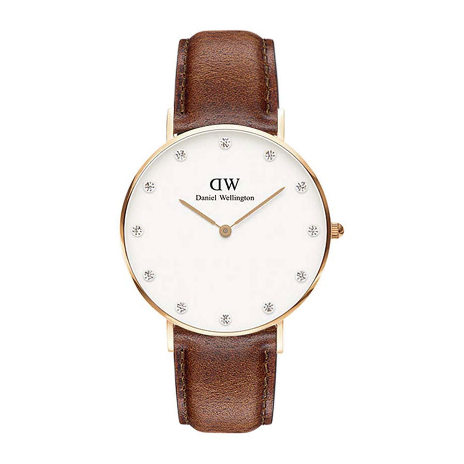 Daniel Wellington Classy St Mawes Rose Gold 34mm Watch - MOMOQO