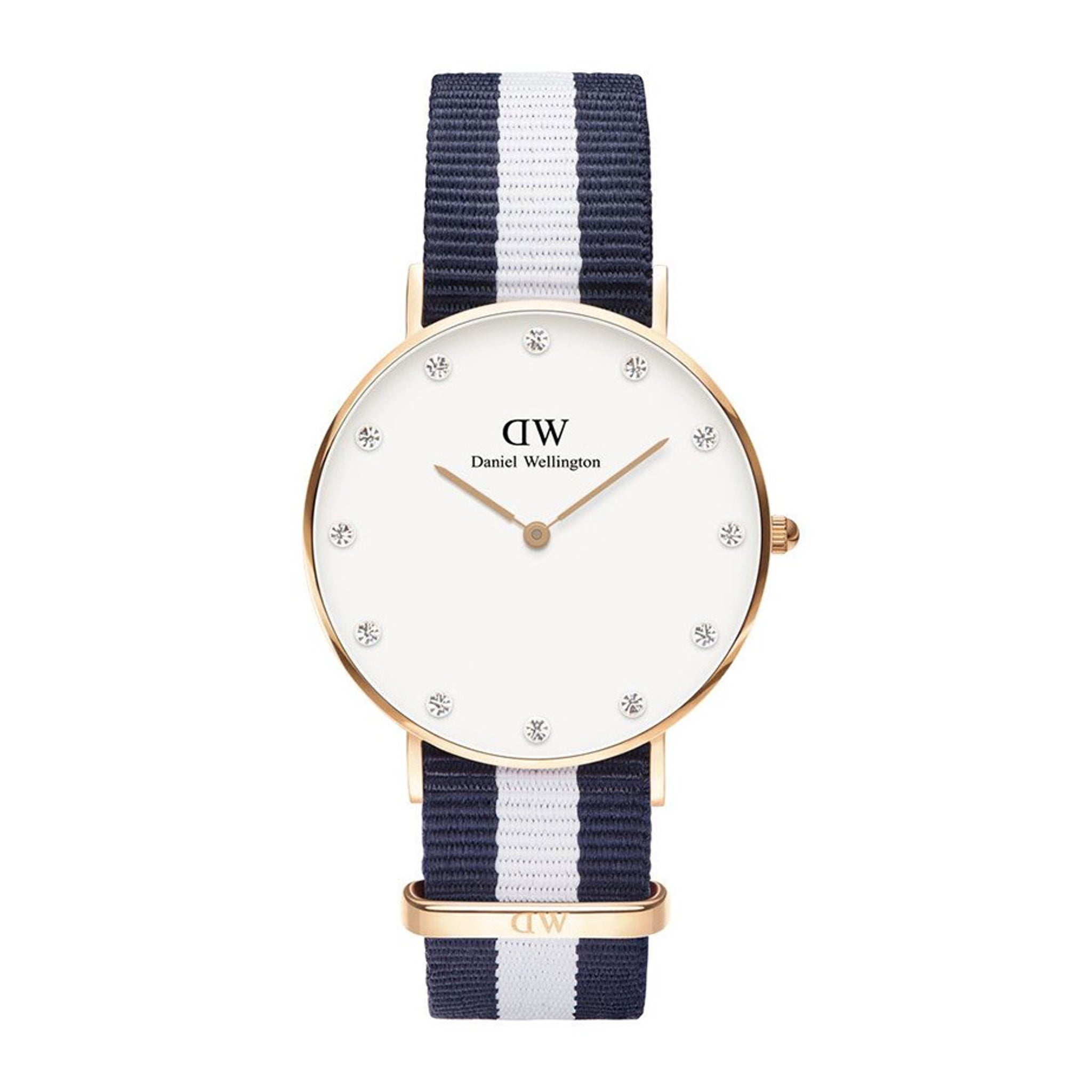 Daniel Wellington Classy Glasgow Rose Gold 34mm Watch