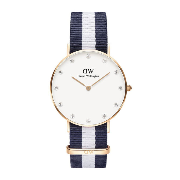 Daniel Wellington Classy Glasgow Rose Gold 34mm Watch - MOMOQO