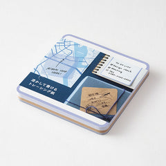 Midori Sticky Notes Pickable Blue