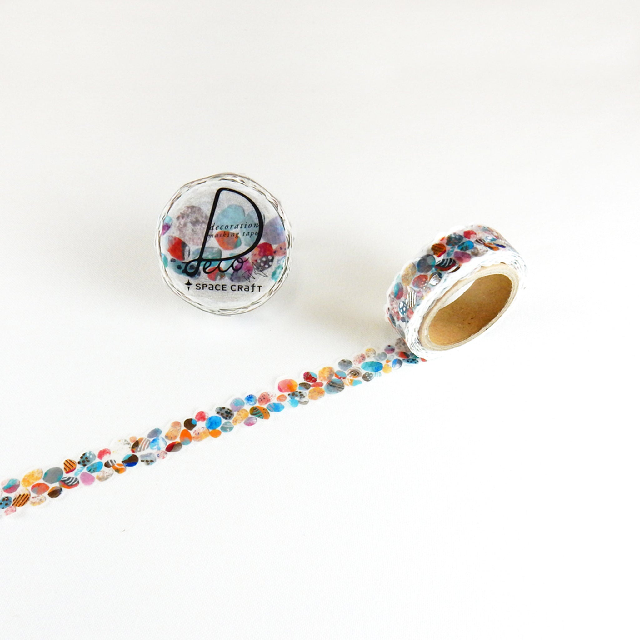 Round Top x Space Craft Washi Tape Stone