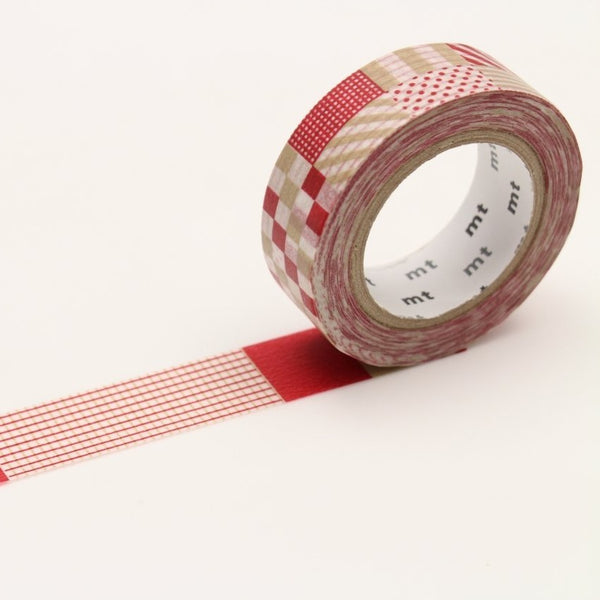 MT Deco Washi Tape Mix Red