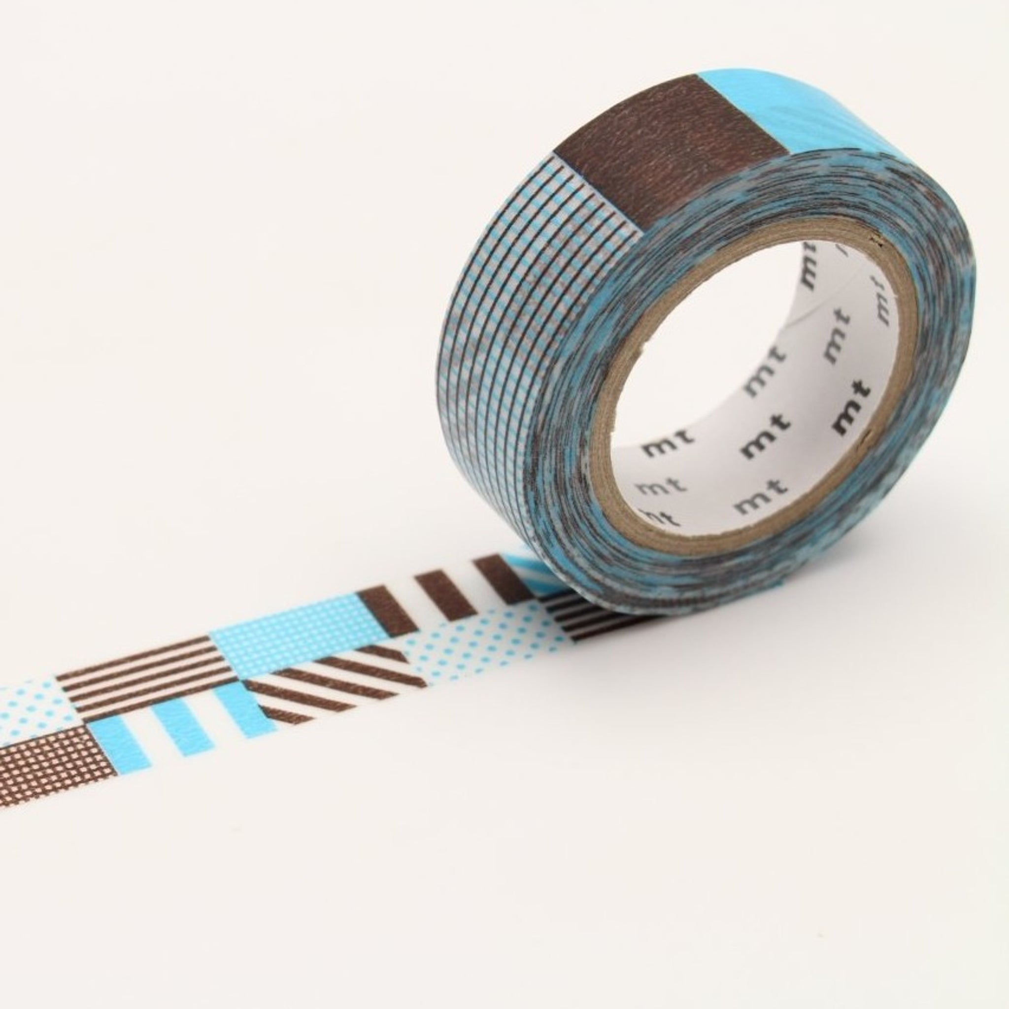 mt Mix Blue washi tape