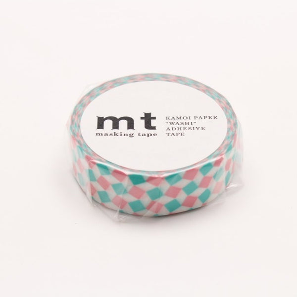 MT Deco Washi Tape Square Pink