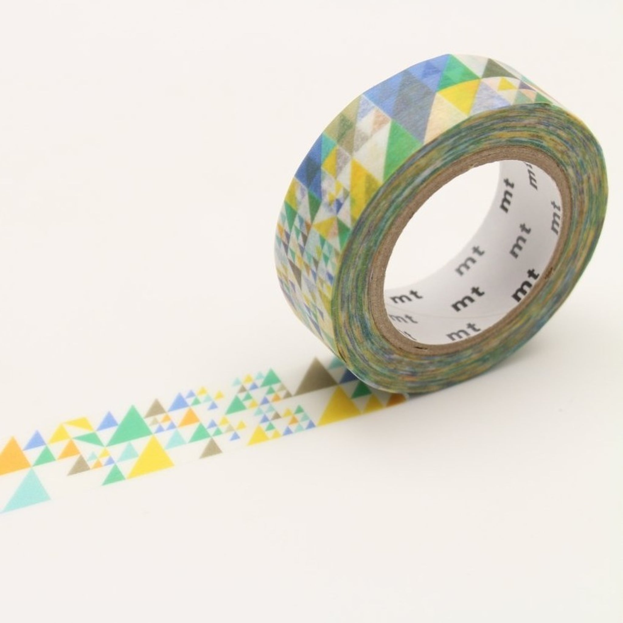MT Deco Washi Tape Triangle Blue