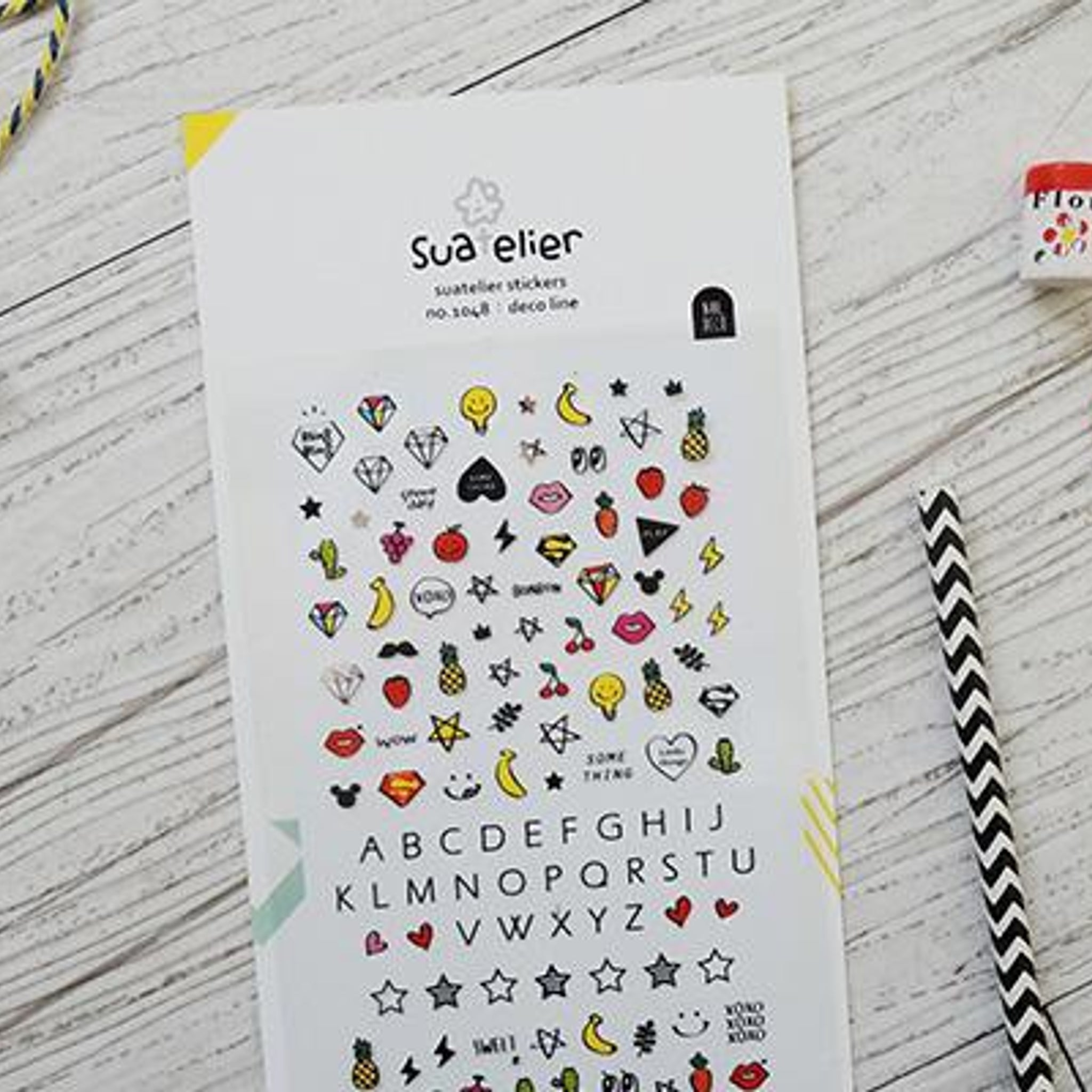 Suatelier Deco Line sticker