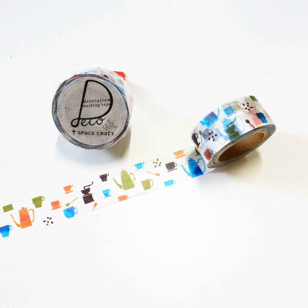 Round Top x Space Craft Washi Tape Cafe (SC-MK-051
