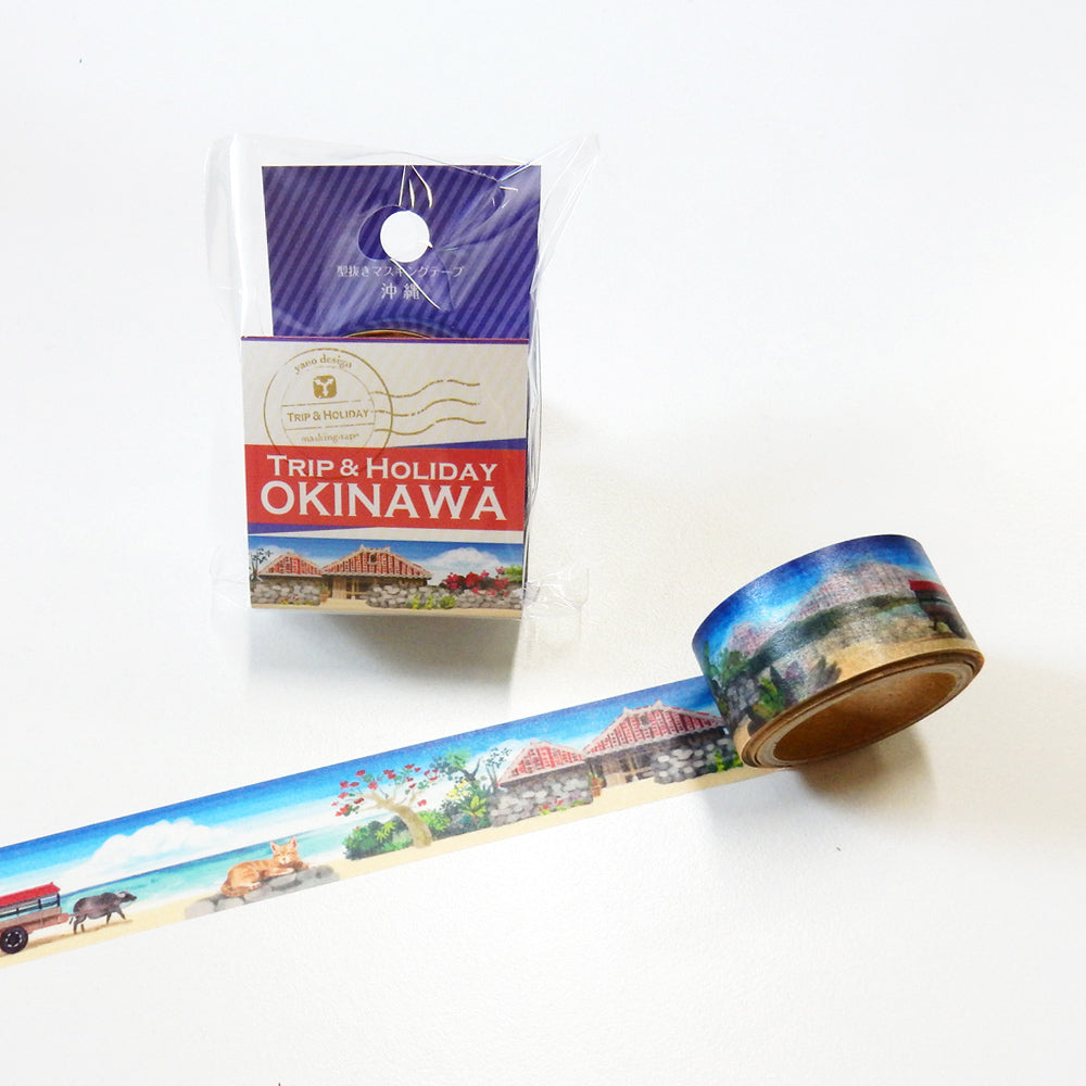 Round Top x Yano Design Okinawa washi tape (YD-MK-094