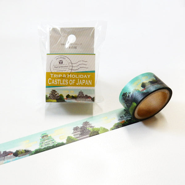 Round Top x Yano Design castles of Japan washi tape