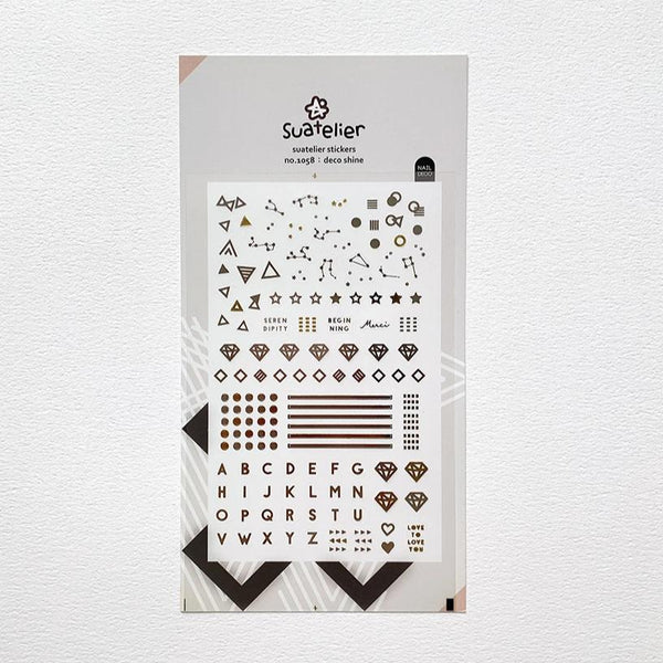 Suatelier Deco Shine sticker