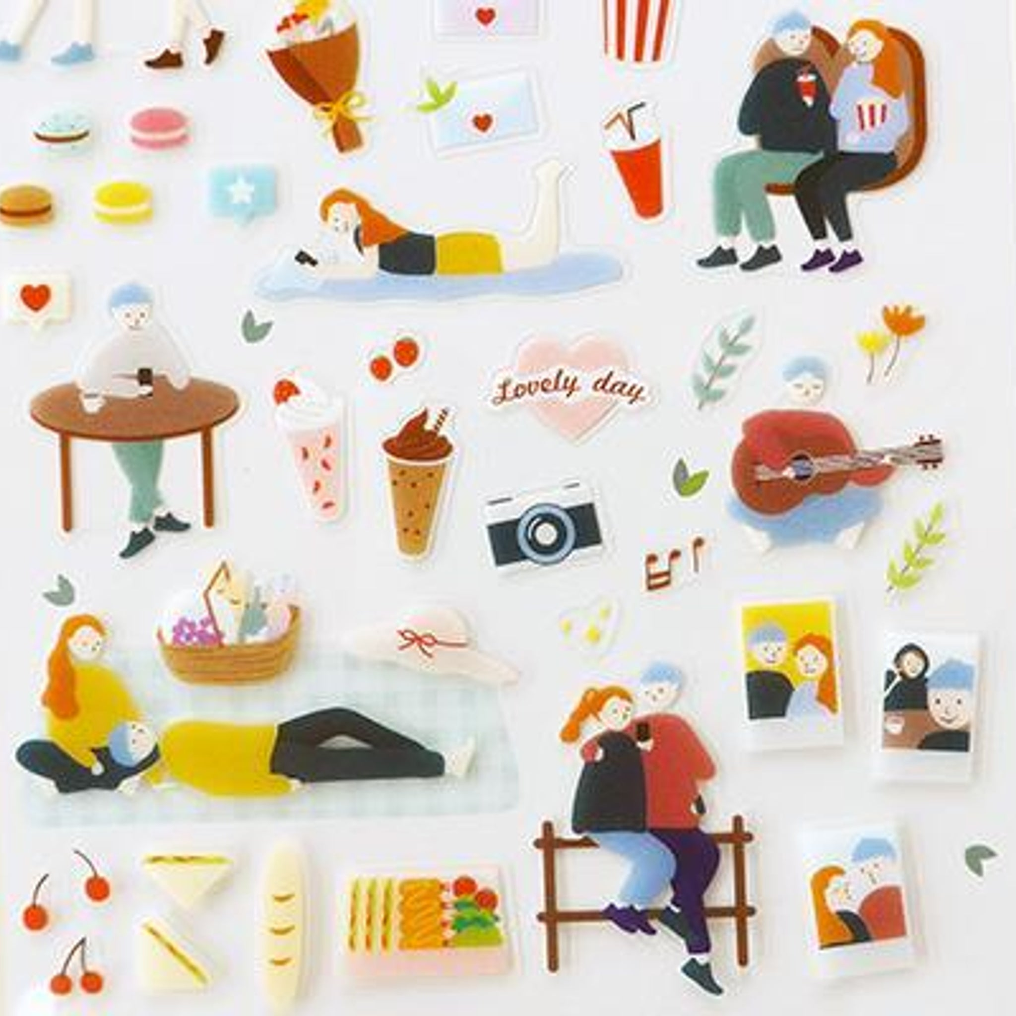 Suatelier Lovely Day Sticker