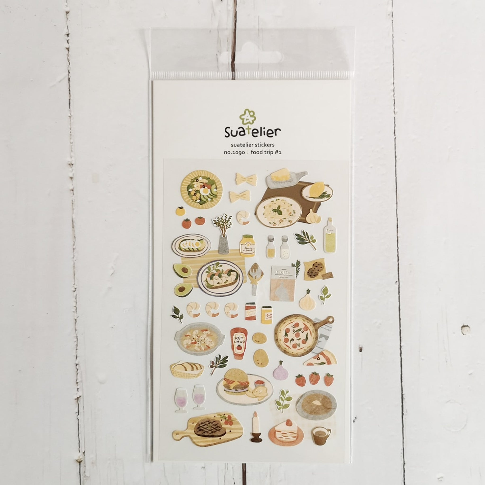 Suatelier Food Trip #1 sticker