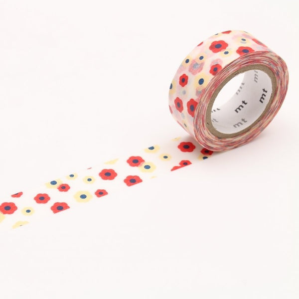 MT For Kids Washi Tape Motif Flower