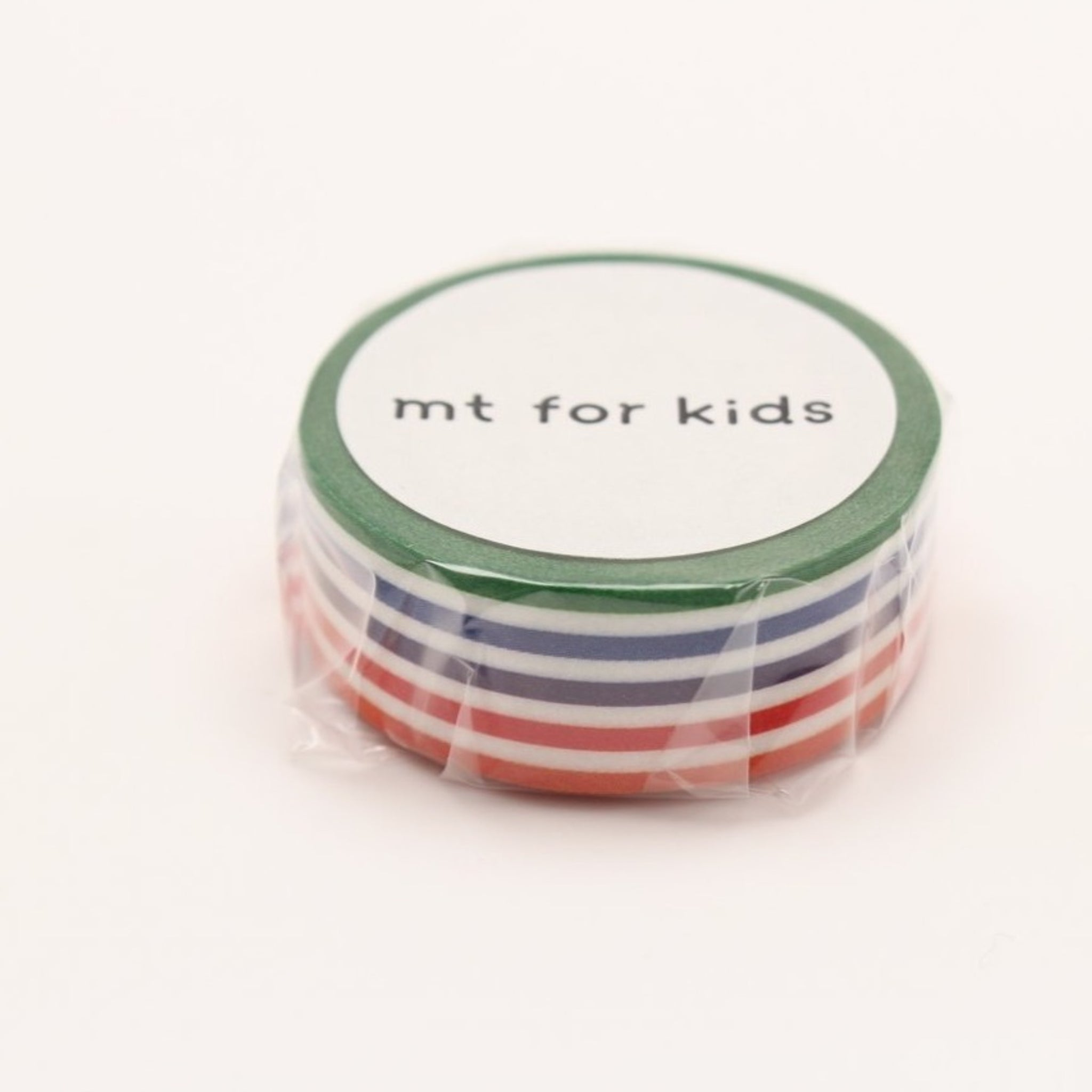 MT For Kids Washi Tape Colorful Border