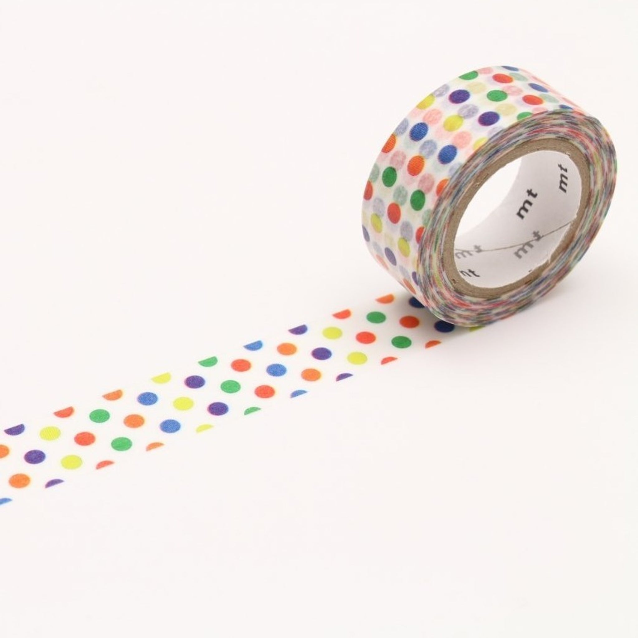 MT For Kids Washi Tape Colorful Dot