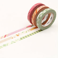 Load image into Gallery viewer, mt slim deco D washi tape set of 3 (MTSLIM19)