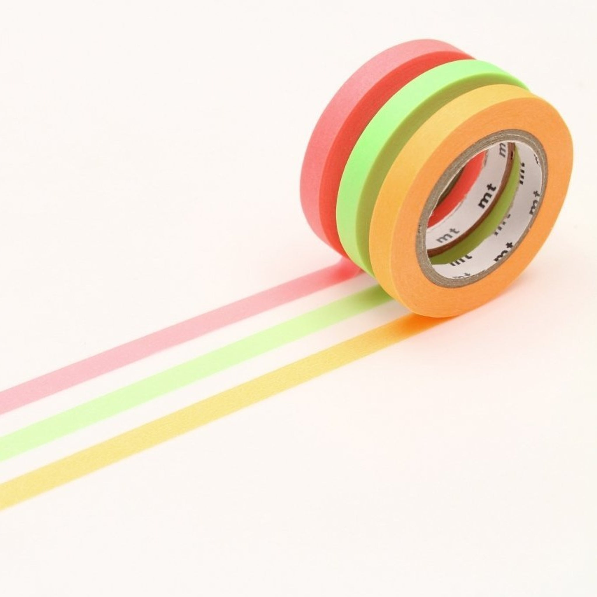 MT Slim 6mm Washi Tape Set I