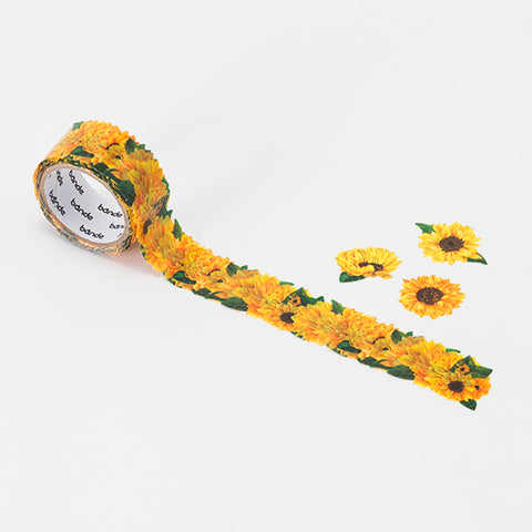 Bande Sunflower (small) Washi Roll Sticker - Cityluxe