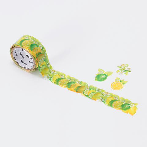 Bande Lemon and Lime Washi Roll Sticker - Cityluxe