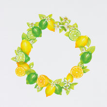 Load image into Gallery viewer, Bande Lemon and Lime Washi Roll Sticker - Cityluxe