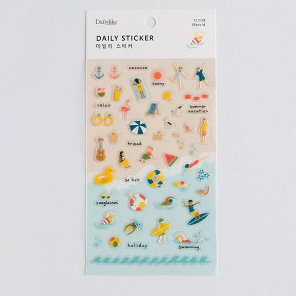 DailyLike Daily sticker - 11 beach