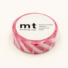 Load image into Gallery viewer, MT Stripe Magenta washi tape (MT01D372)