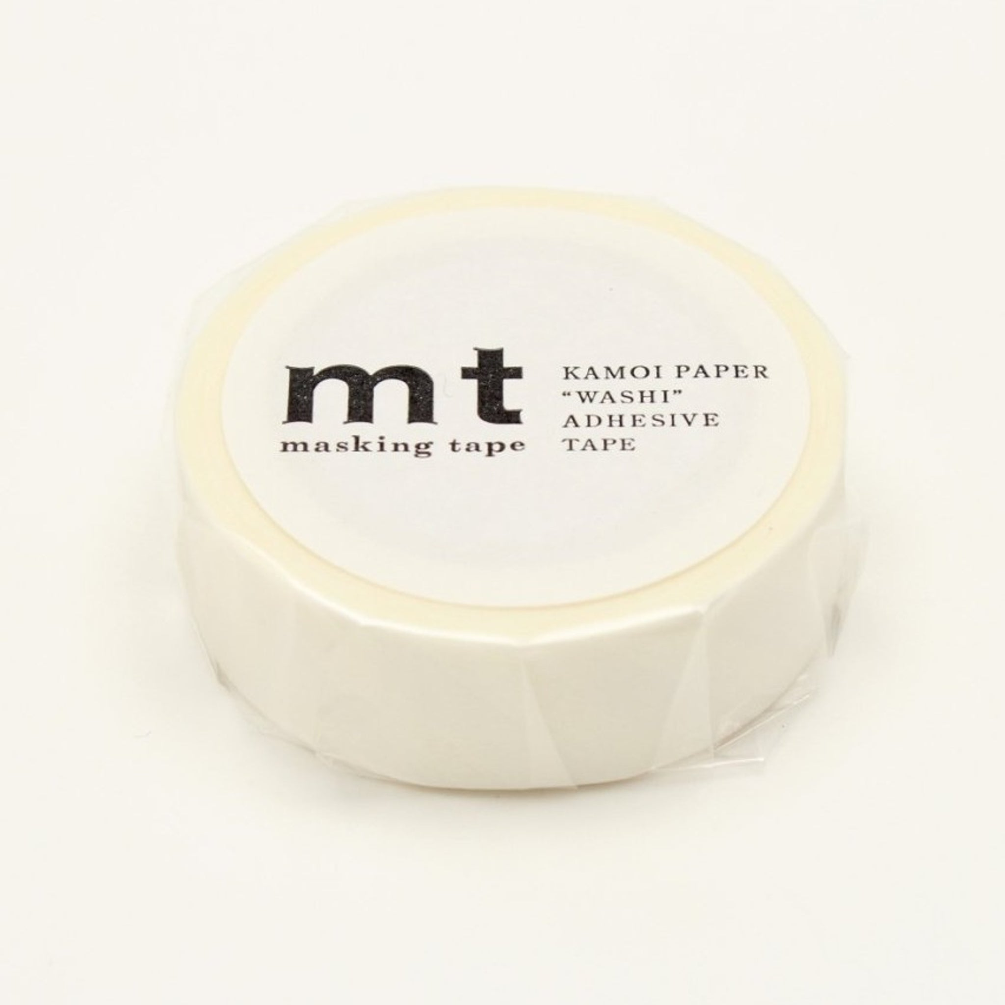 MT Deco Washi Tape Stripe White