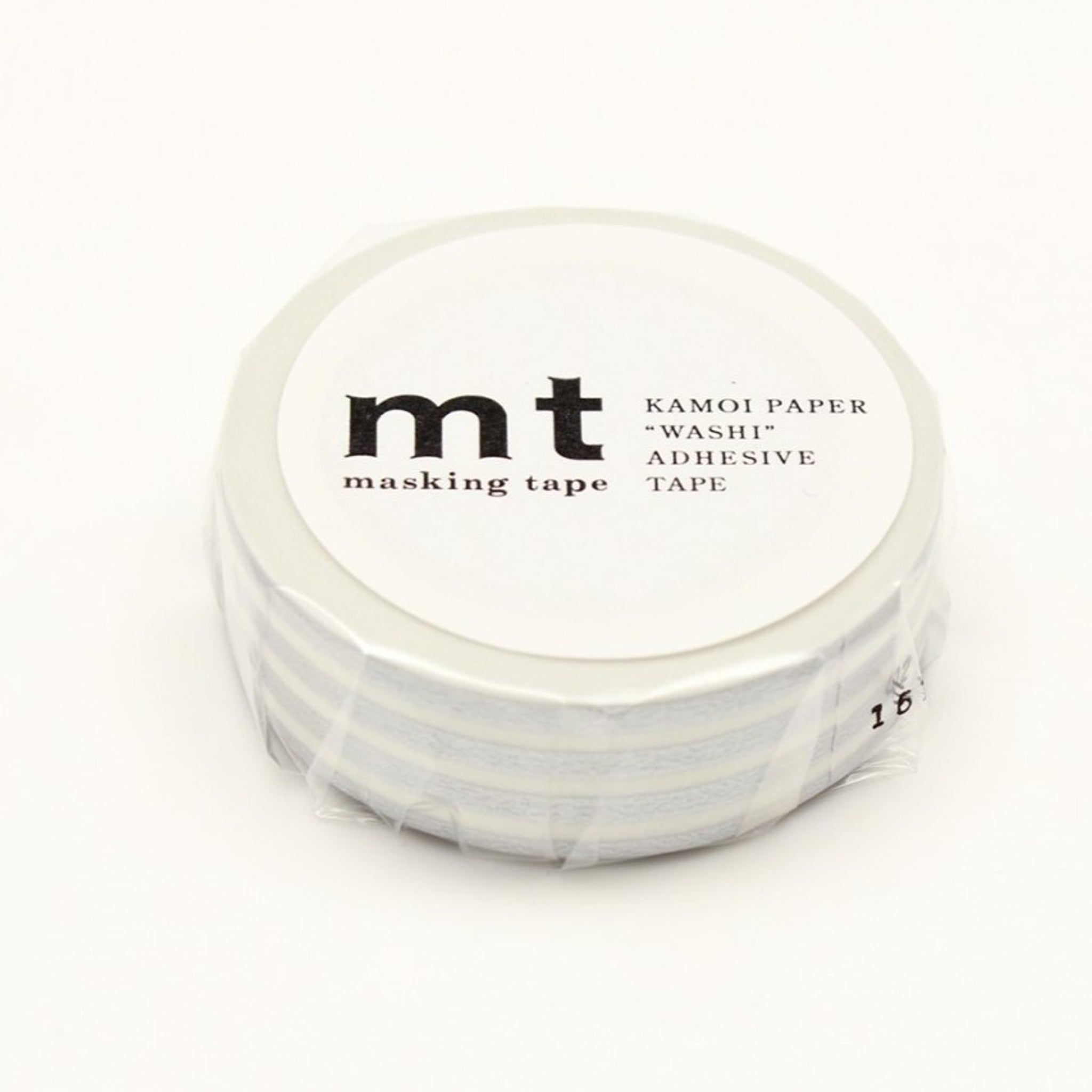 mt Border Silver washi tape